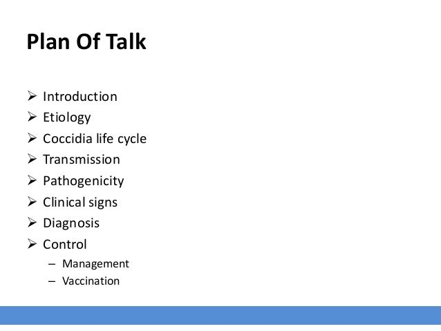 Overview of Coccidiosis in Poultry Slide 2
