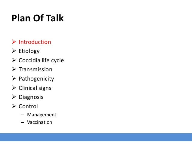 Overview of Coccidiosis in Poultry Slide 3