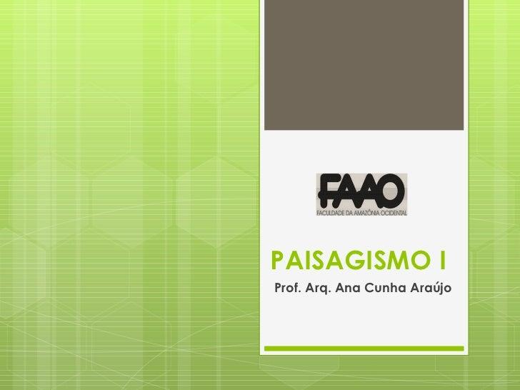 1. paisagismo