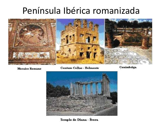Península Ibérica romanizada