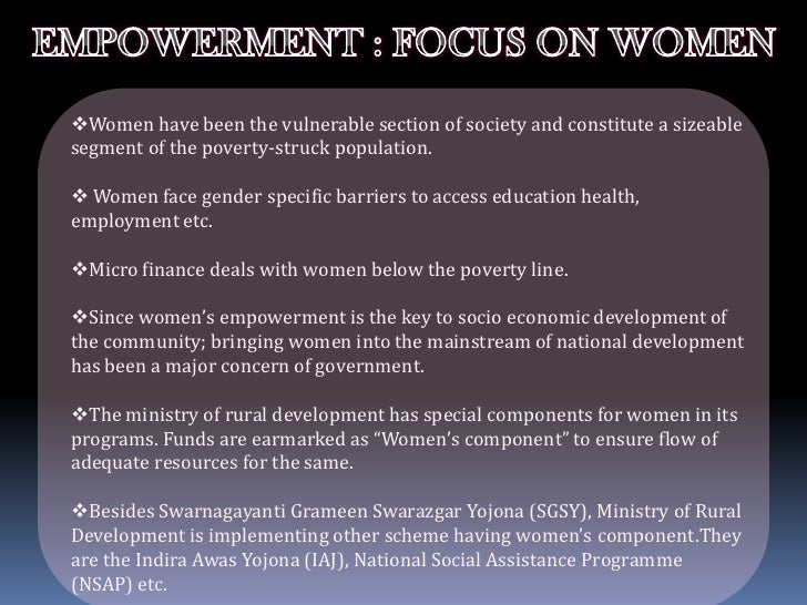 Empowering Women Through Microfinance in India