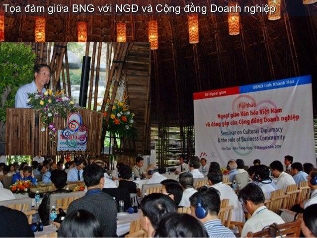 Tọa đàm giữa BNG với NGĐ và Cộng đồng Doanh nghiệpTọa đàm giữa BNG với NGĐ và Cộng đồng Doanh nghiệp