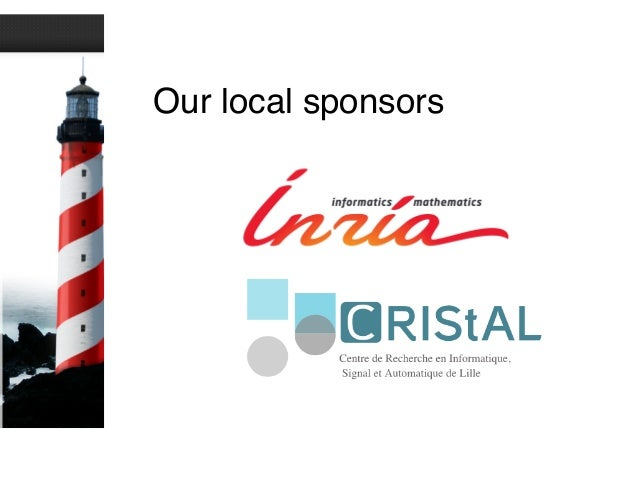 Our local sponsors