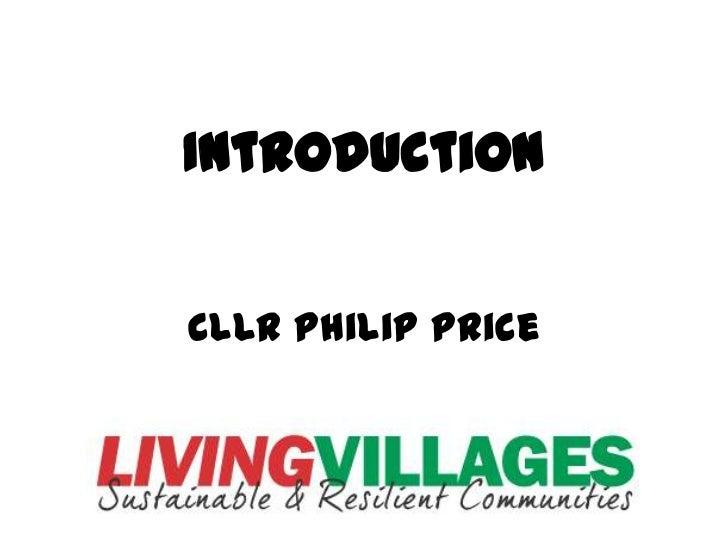 IntroductionCllr Philip Price