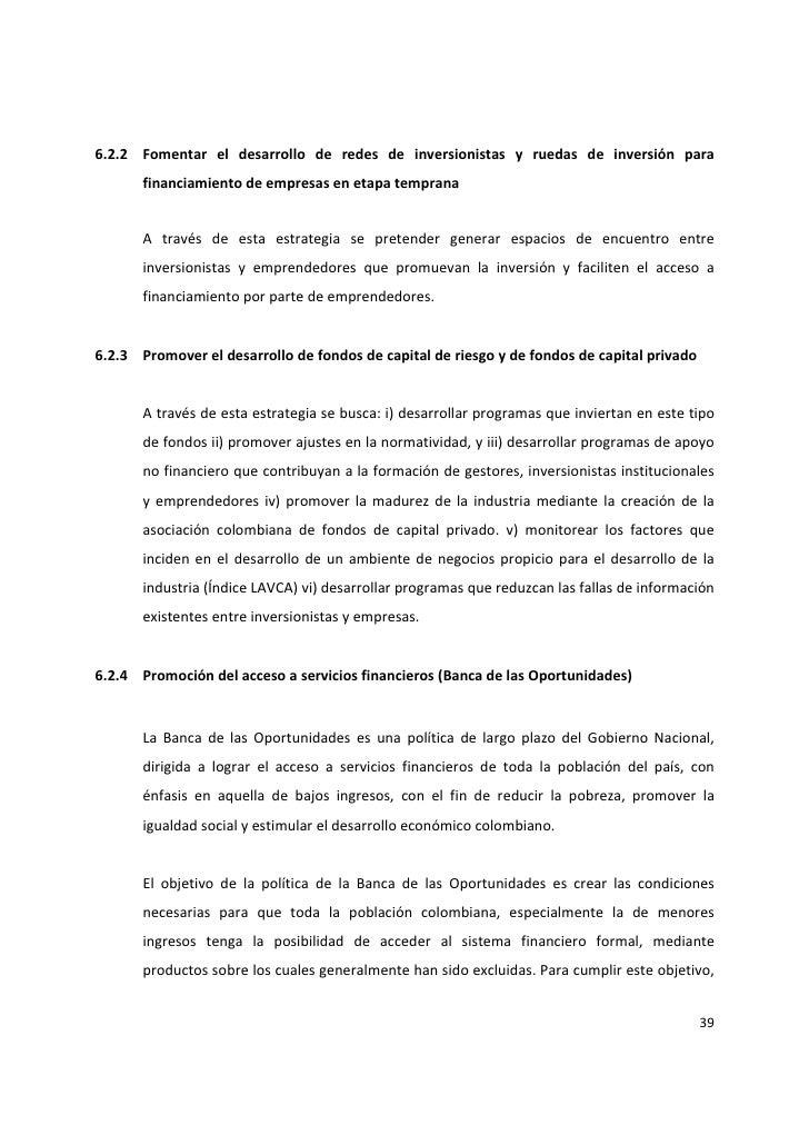 Normatividad fondos de capital privado colombia