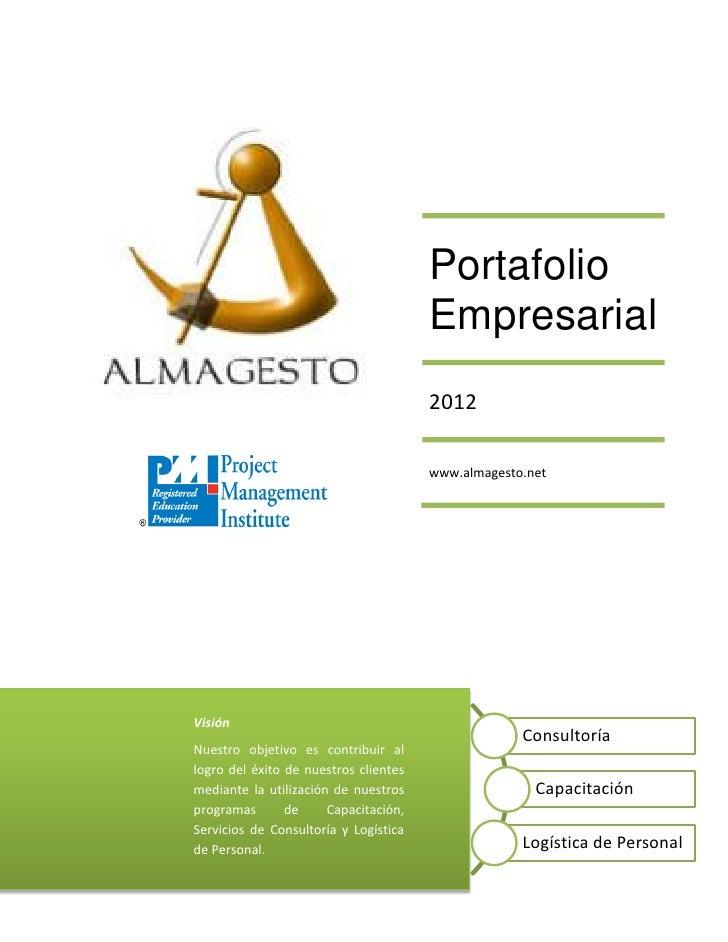 Portafolio                                       Empresarial                                       2012                   ...