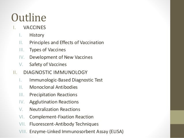 Thesis statement for research paper on vaccinations for adults