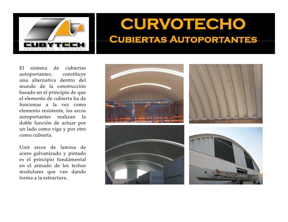 Presentacion de cubiertas y techos sac fabricacion de - Cubiertas para techos ...