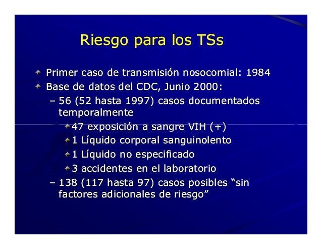 2008 profilaxis post exposici n al vih - Liquido preseminal vih casos ...