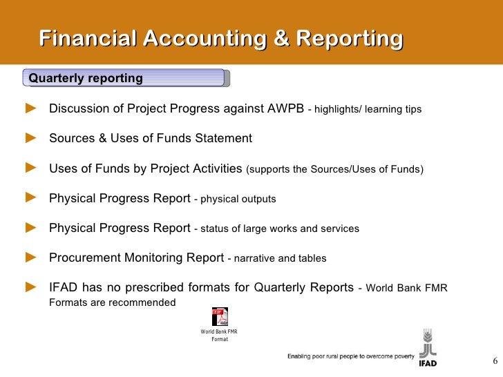 quarterly finance report template