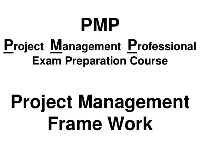 1 project management framework