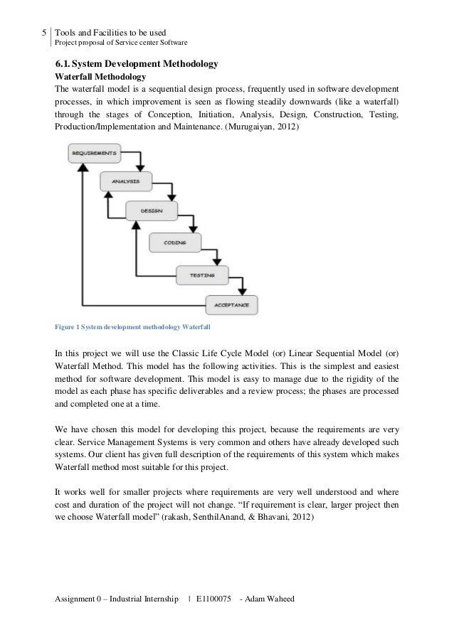 Project Proposal Service Center Management Software