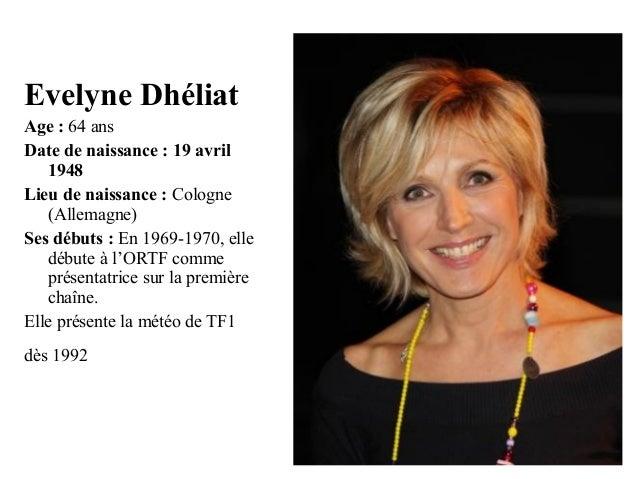 1 quels ages ont ils en 2012 - Quel age a evelyne dheliat ...