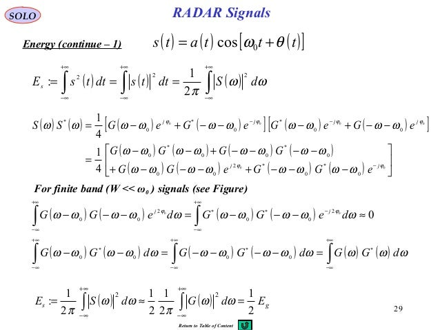 radar signal processing thesis Recently published articles from digital signal processing  radar high speed  small target detection based on keystone transform and linear canonical.