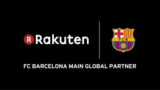 Ratificació de l'acord de patrocini amb Rakuten Slide 2