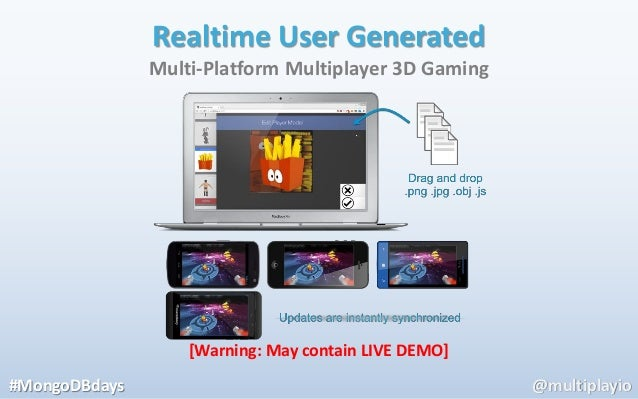 Realtime User Generated               Multi-Platform Multiplayer 3D Gaming                   [Warning: May contain LIVE DE...