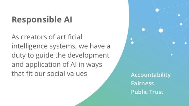 As creators of artificial intelligence systems, we have a duty to guide the development and application of AI in ways that...