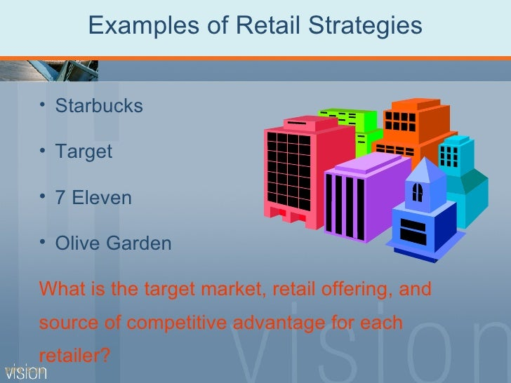 retail strategy Introduction just when we have finally mastered the marketing mix that includes  the four ps, we arrive at the retail strategy the retail marketing strategy.