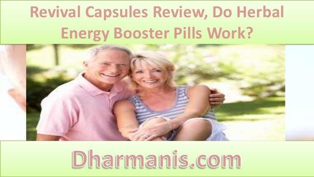 Revival Capsules Review, Do Herbal Energy Booster Pills Work?