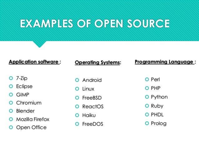 Open Source Seminar Presentation