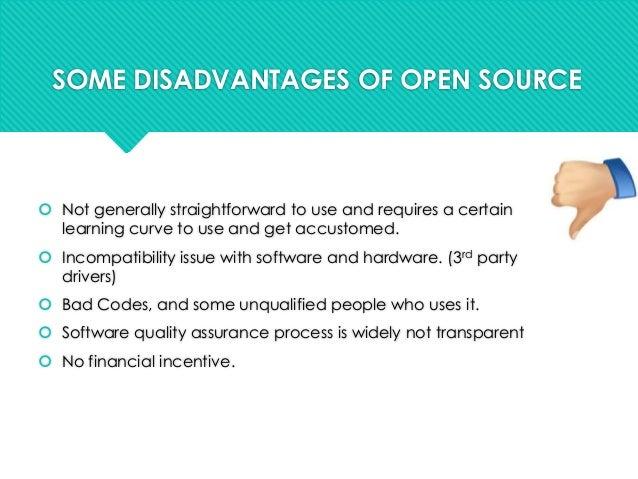 Open source software advantages business plan