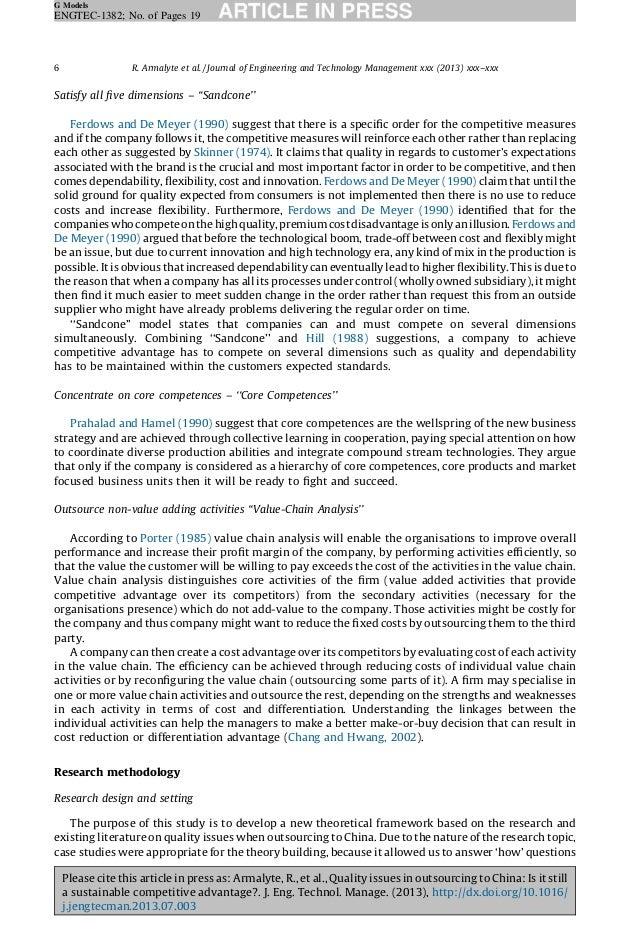 Jwt china case study essay