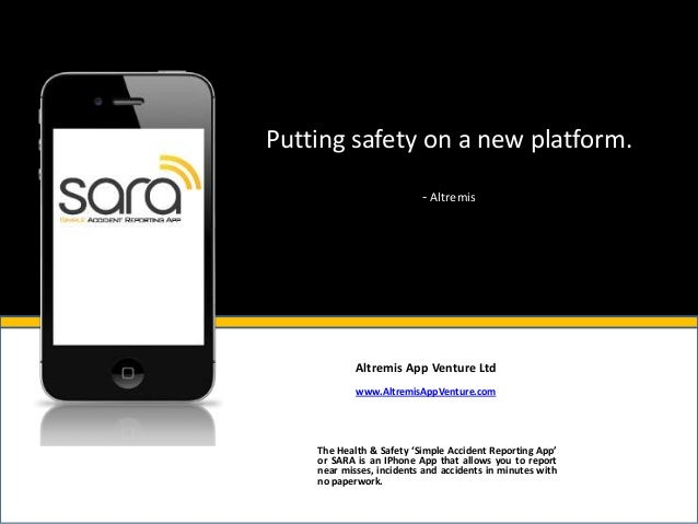 Putting safety on a new platform.                          - Altremis            Altremis App Venture Ltd            www.A...