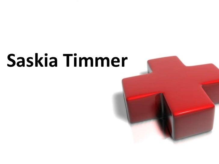 Saskia Timmer<br />
