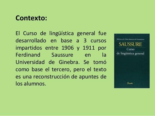 Saussure y el estructuralismo Slide 2