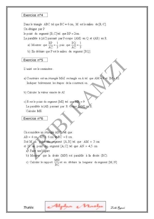1° serie thales-zribi-r-alphamaths Slide 2