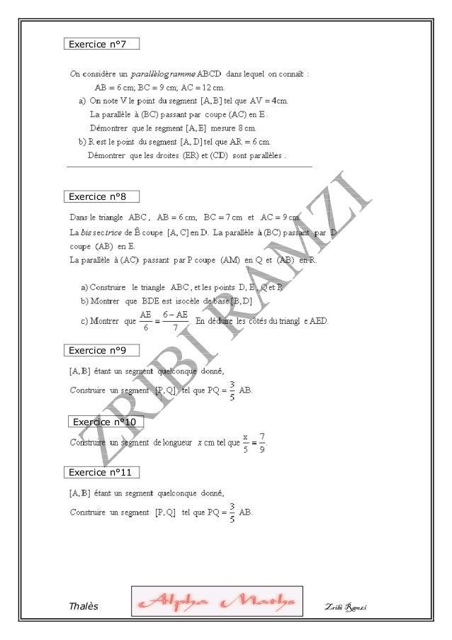 1° serie thales-zribi-r-alphamaths Slide 3