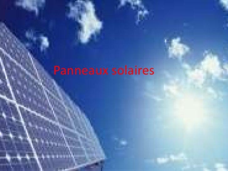 Les panneaux solaires en Belgique