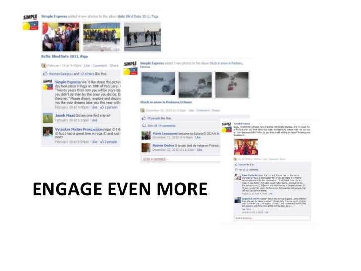 ENGAGE EVEN MORE