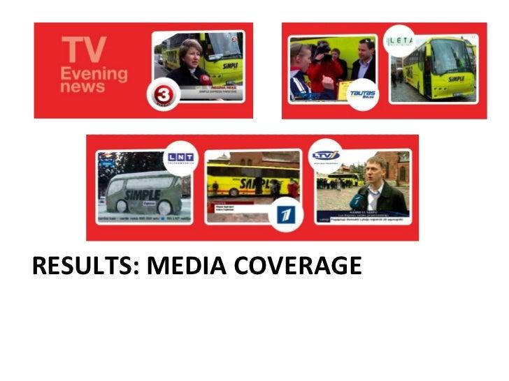 RESULTS: MEDIA COVERAGE
