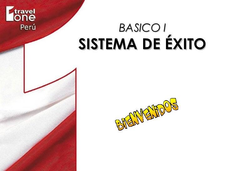 BASICO I SISTEMA DE ÉXITO