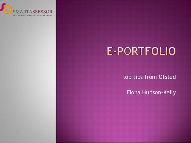 top tips from Ofsted Fiona Hudson-Kelly
