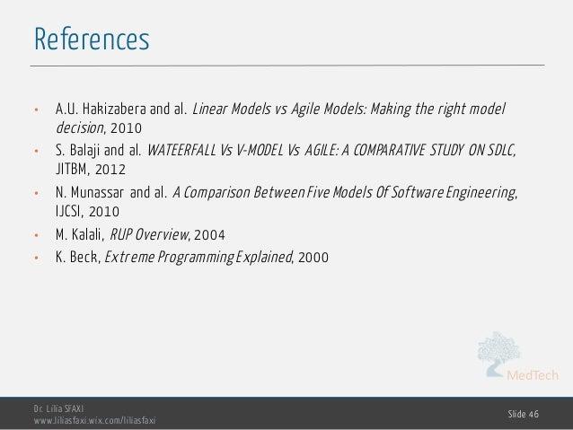 MedTech References Dr. Lilia SFAXI www.liliasfaxi.wix.com/liliasfaxi Slide 46 • A.U. Hakizabera and al. Linear Models vs A...