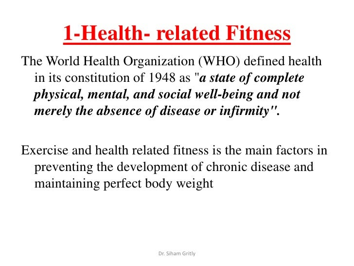 what does the term fitness mean
