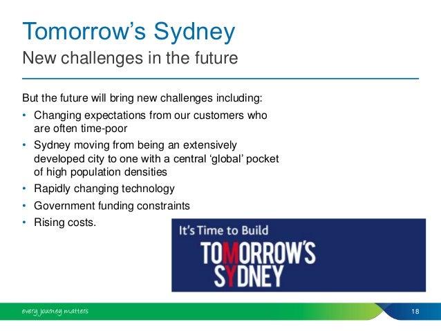 """""""KEYNOTE PRESENTATION Easing Sydney's Congestion ..."""
