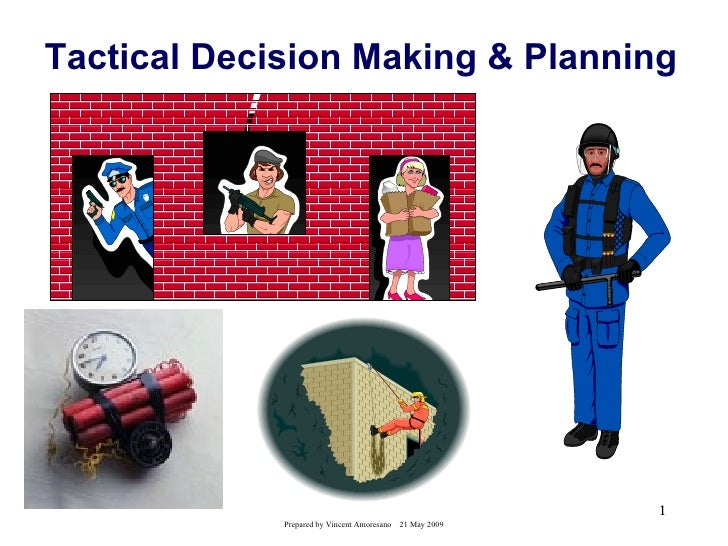 Tactical Decision Making & Planning                                                           1             Prepared by Vi...