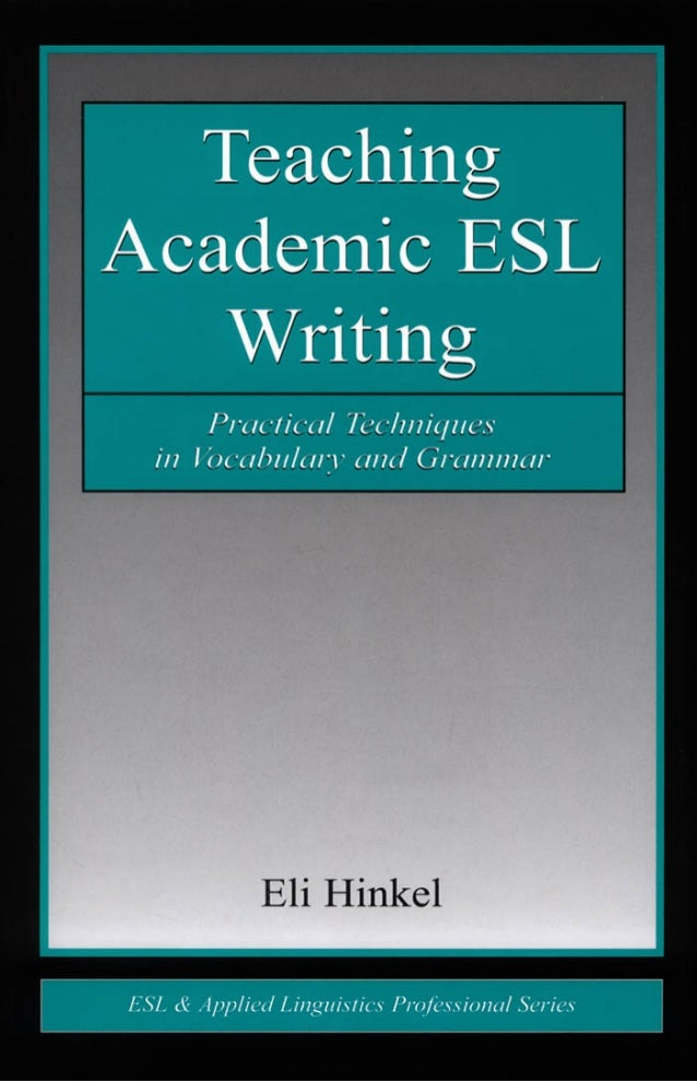 teaching writing to esl students worksheets