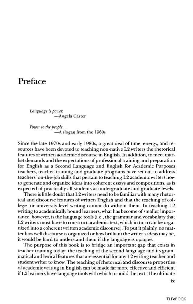 Academic discourse essay