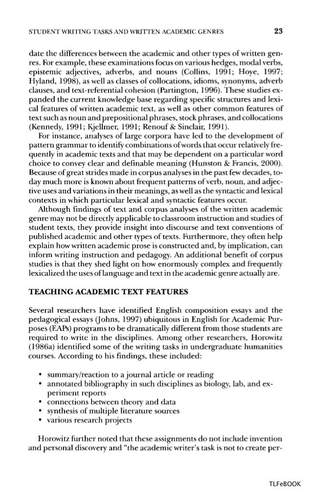 teaching academic writing p