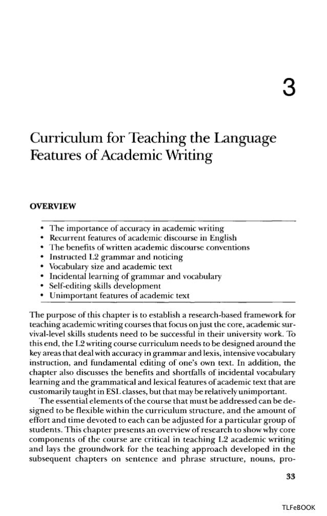 Coherence in writing : research and pedagogical perspectives