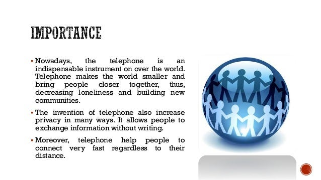 Invention of telephone essay