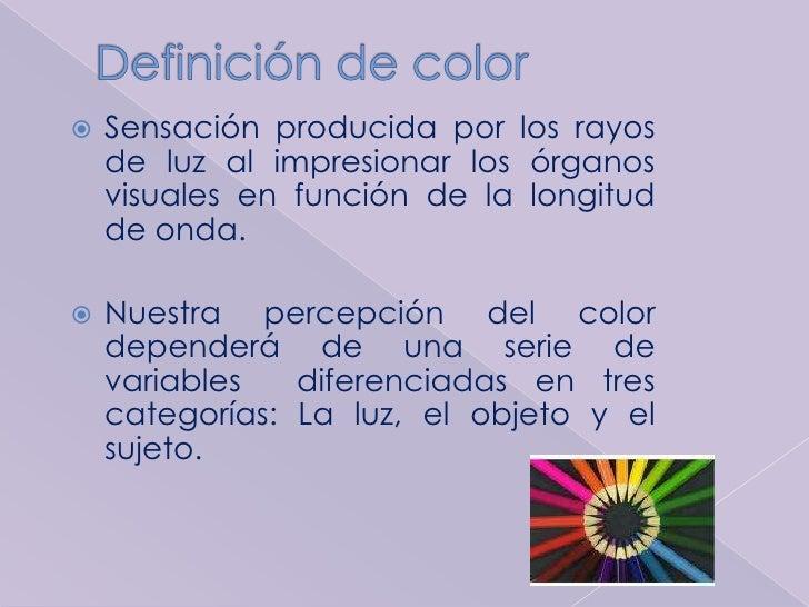 1 . teoría del color Slide 2