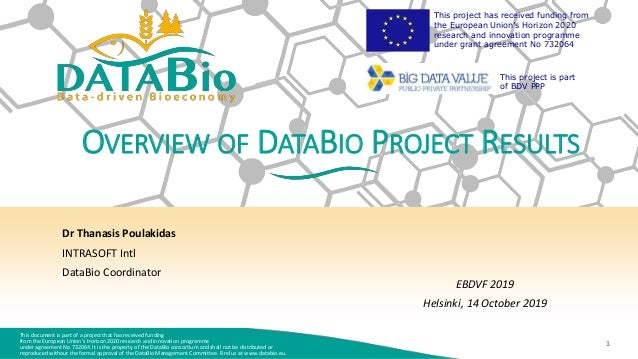 This document is part of a project that has received funding from the European Union's Horizon 2020 research and innovatio...
