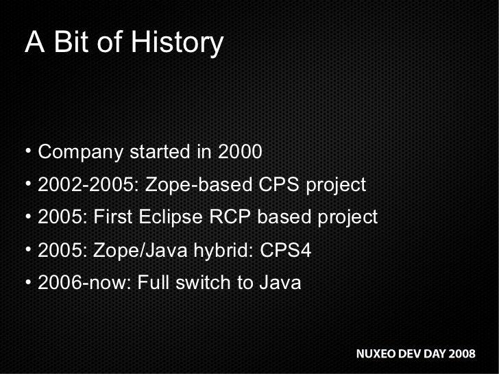 The Nuxeo Way: leveraging open source to build a world-class ECM platform Slide 3