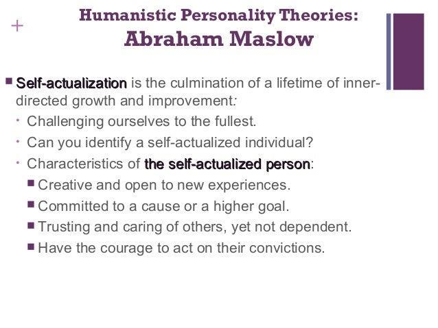 abraham maslow personality theory