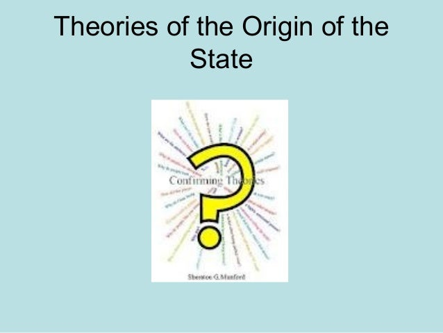 social contract theory of the origin of the state pdf